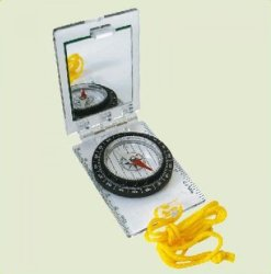 Компас Ace Camp Foldable Map Compass w/mirror